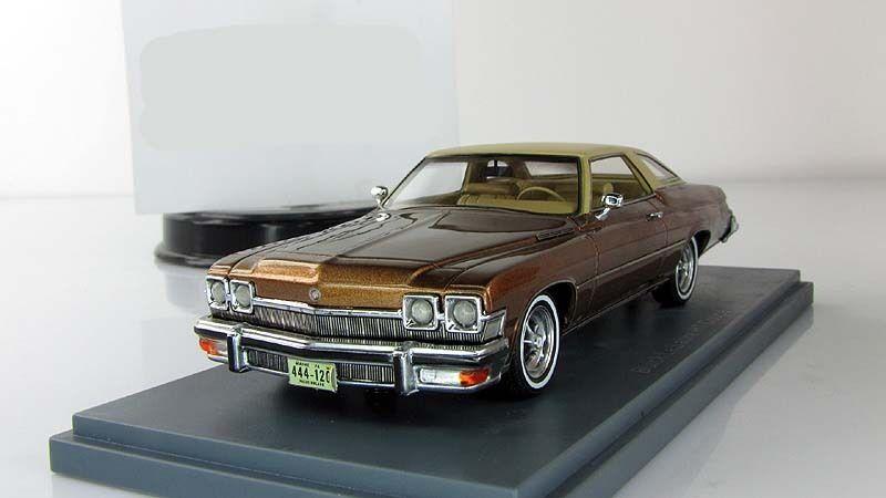 1 43 Neo Buick Le Sabre 2d Hardtop Coupe Marrone Metálico 1974 Neo 44120