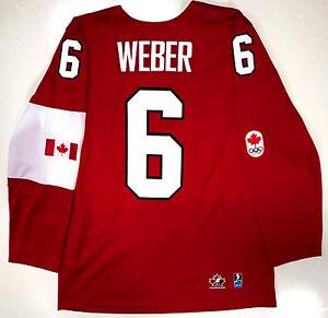 shea weber canada jersey