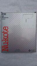 Nukote 8mm X 400 M Ibm Wheelwriter 3 5 6 Black Correctable Film B192