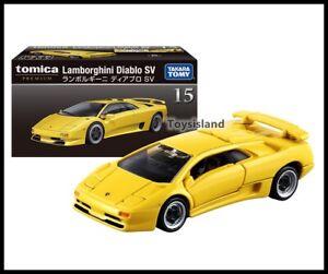 Details about TOMICA PREMIUM 15 Lamborghini Diablo SV 1/62 TOMY DIECAST CAR  2019 APRIL NEW