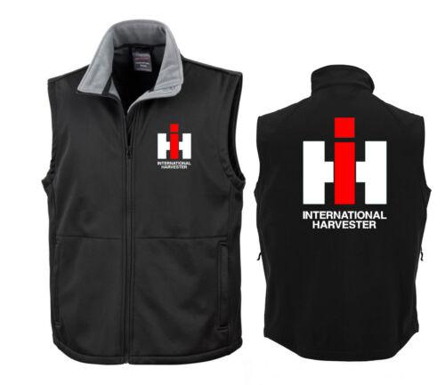 Harvester 370-31 IHC Softshell GiletMC CORMICKSoft Shell BodywarmerINT