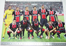 PHOTO 29.5 X 21 EQUIPE PARIS SAINT-GERMAIN PSG  FOOTBALL 2011-2012