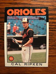 1986-Topps-340-Cal-Ripken-Jr-Baseball-Card-Baltimore-Orioles-HOF-Raw
