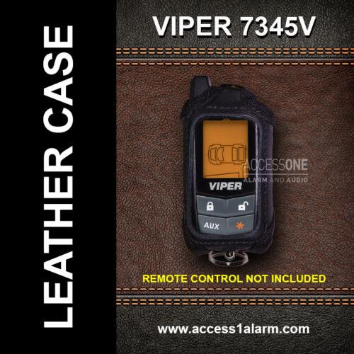 Viper 7345V Protective Leather Remote Control Case For Viper 5305V 2-Way Remote