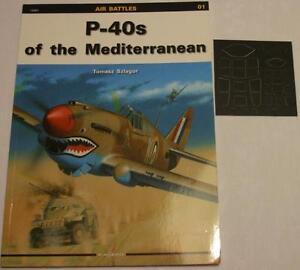 P-40s of the Mediterranean - Kagero Air Battles Masking foil - English!!! - Reda, Polska - Zwroty są przyjmowane - Reda, Polska