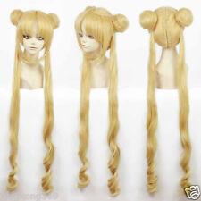 Girl Sailor Moon Cosplay Costumes Wig Tsukino Usagi And Princess Serenity wig