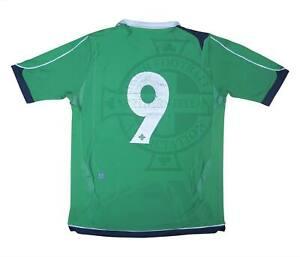 Irlanda del Nord 2006-08 ORIGINALE Maglietta (Lafferty) #9 (OTTIMO) M