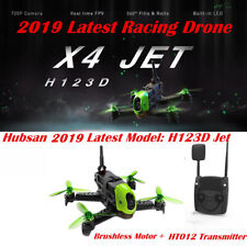 Hubsan H123D X4 Jet Storm Racing Drone Brushless FPV 720P 5.8G RC Quadcopter RTF