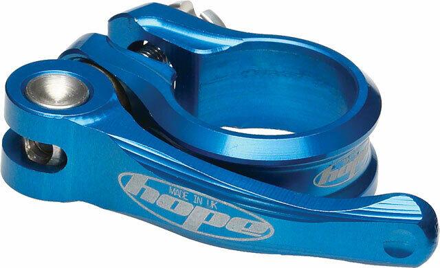 Hope Bolt Seat Clamp Blue 34.9mm