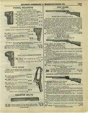 1932 PAPER AD 3 PG Air Rifle New King Daisy Benjamin Fox Remington Wyandotte Pop