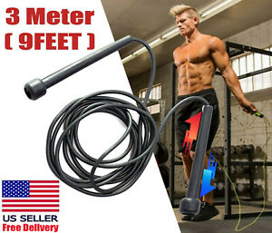 Jump Rope Speed Skipping Fitness Exercise Gym Boxing Adjustable Crossfit Aerobic