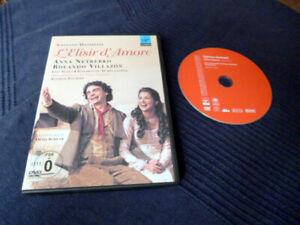 DVD Donizetti L'Elisir D'Amore Anna Netrebko & Rolando Villazon Staatsoper WIEN