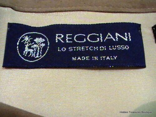 Morbido Nuova Taglia Reggiani Con Fodera Made Beige Italy 12 In Donna Etichetta axZqnFwq5