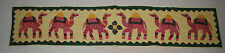 New Long Toran Wall Hanging - Hippy Fairly Traded Ethnic Boho India Camel
