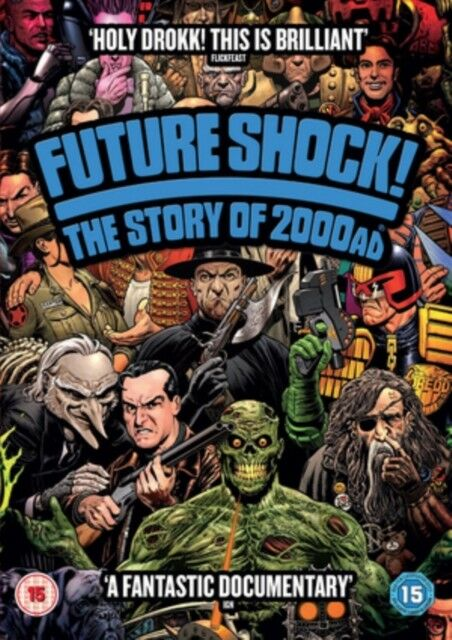 Future Shock - The Story Of 2000AD DVD Nuovo DVD (MTD6041)