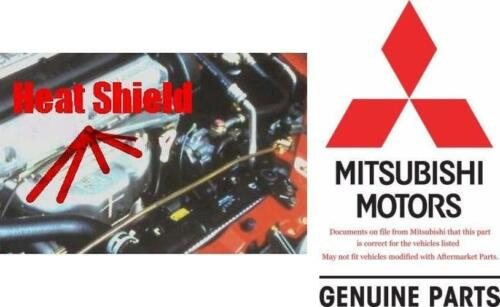 1995 1999 Talon Eclipse 4g63 Exhaust Manifold Upper Heat Shield OEM NEW