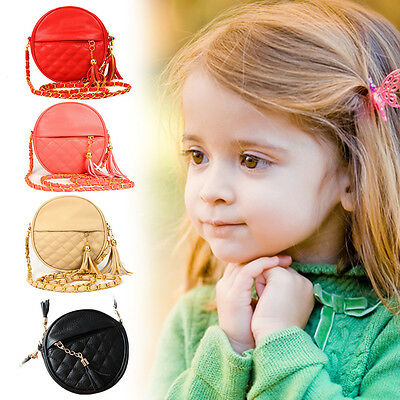 New Style Children Kids Girls Tassel Handbag Baby Women Shoulder Messenger Bags