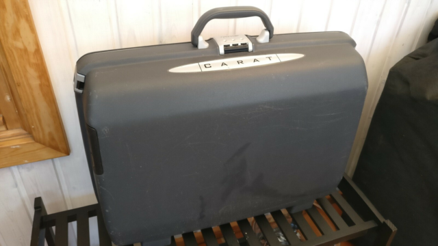 Kuffert, Samsonite, b: 60 l: 20 h: 42, Hård kuffert, god…