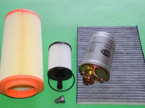 VW Lupo 1.2 /& 1.4 TDI Filterset Filtersatz Inspektionspaket VW Polo 6N2 1.4 TDI