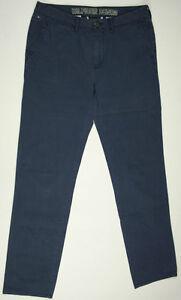 Tommy-Hilfiger-Chinos-Pants-039-SASH-LWTW-039-Blue-Khakis-W32-L34-EUC-RRP-289-Mens