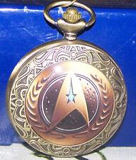 Wunderschöne neue Quartz Taschenuhr,Star Trek,4,5cm Durchmesser(br.)