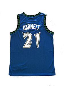 brand new 6b592 1945b Details about Kevin Garnett Signed Minnesota Timberwolves BLUE Jersey  STEINER