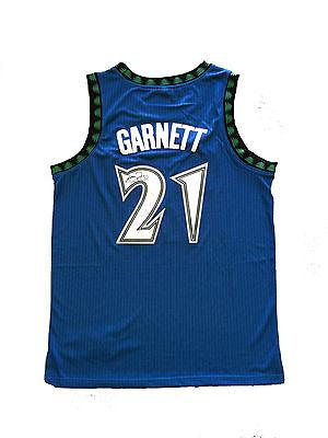 Kevin Garnett Signed Minnesota Timberwolves Blue Jersey Steiner Ebay