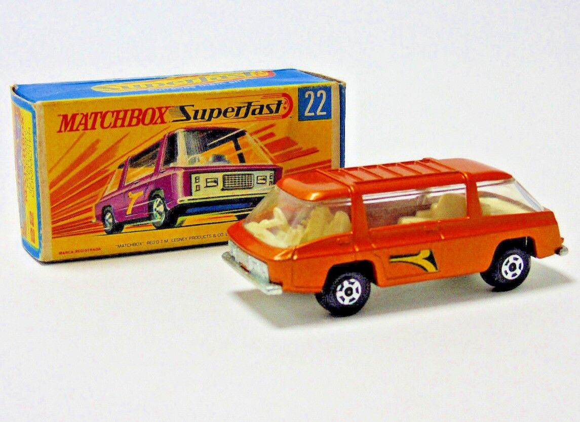 No.22 1970 Matchbox Superfast Lesney Freeman Intercity Commuter 1:64 Scala con