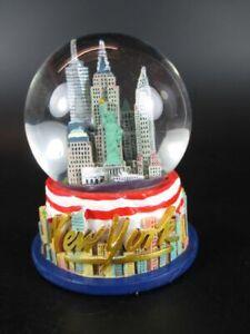 New-York-Snow-Ball-Freedom-Tower-Empire-Liberty-Chrysler-9cm-Souvenir-New