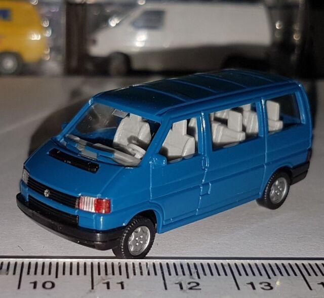 WIKING 296 16 VOLKSWAGEN VW CARAVELLE TRANSPORTER BUS ECHELLE 1:87 HO NEUF OVP