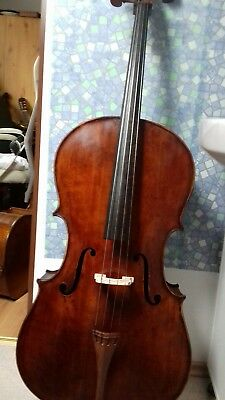 Musical Instruments & Gear Reasonable Nr 472 Cello 4/4 Super Klang Vollmassiv