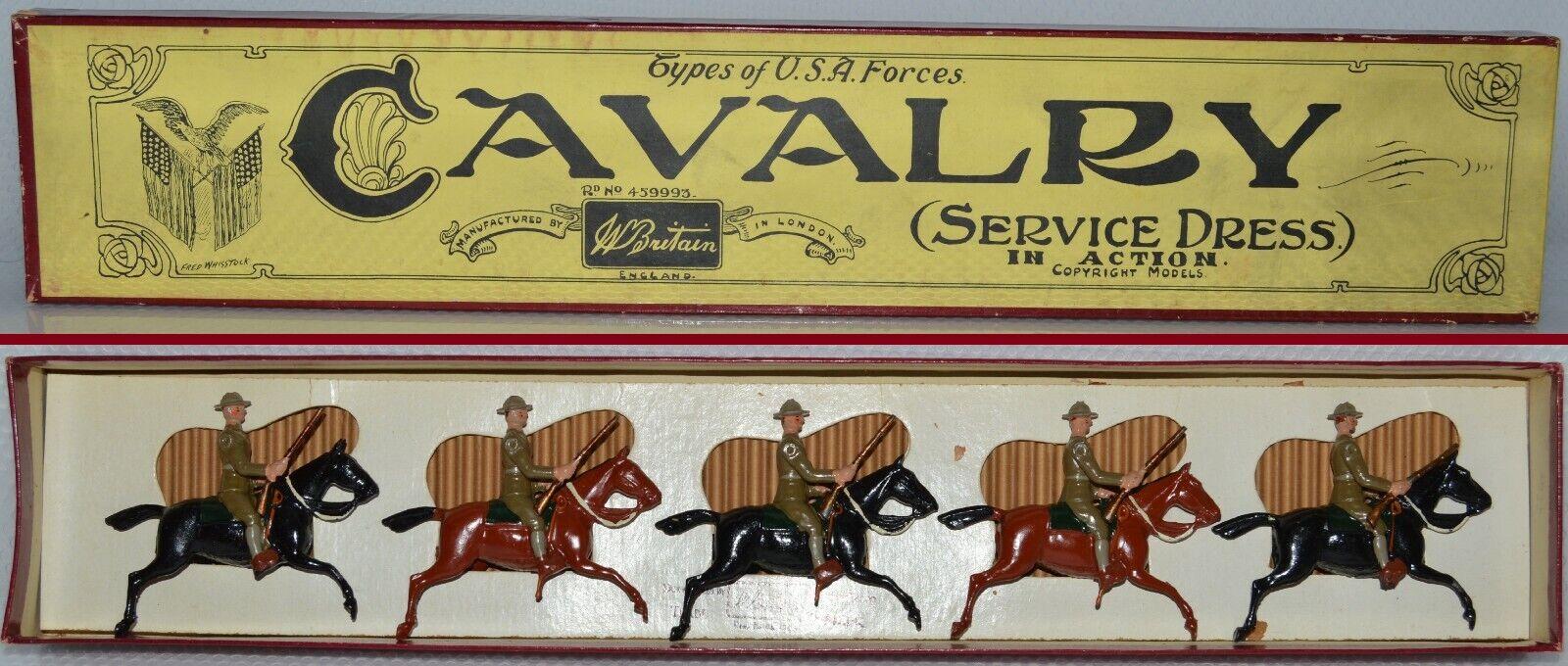 Britter före kriget, U S A s kavalleri (ca. 1928) EXCELLENT AA-10676