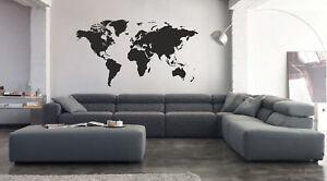 vinilo decorativo mapa mundi stickers pegatinas decoración hogar adhesivos