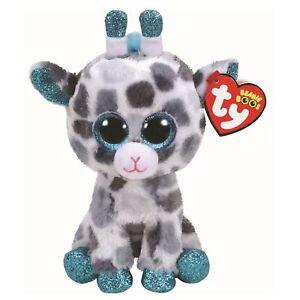 TY-Beanie-Babies-36259-Boos-GIA-le-gris-Girafe-Boo
