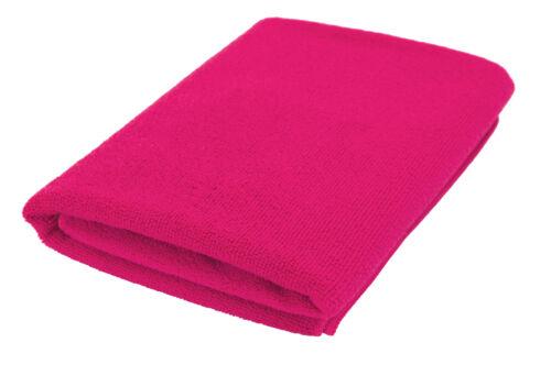 Duschtuch Mikrofaser 100/% rosa pink 70x140 cm Handtuch Reise Sport Tuch Badetuch