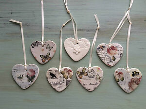 Vintage-Inspired-Handcrafted-Ceramic-Hanging-Hearts-by-Amanda-Mercer