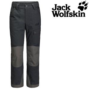 Jack Wolfskin K Rugged Pants Kids Boys Girls Child Trousers Pockets Breathable