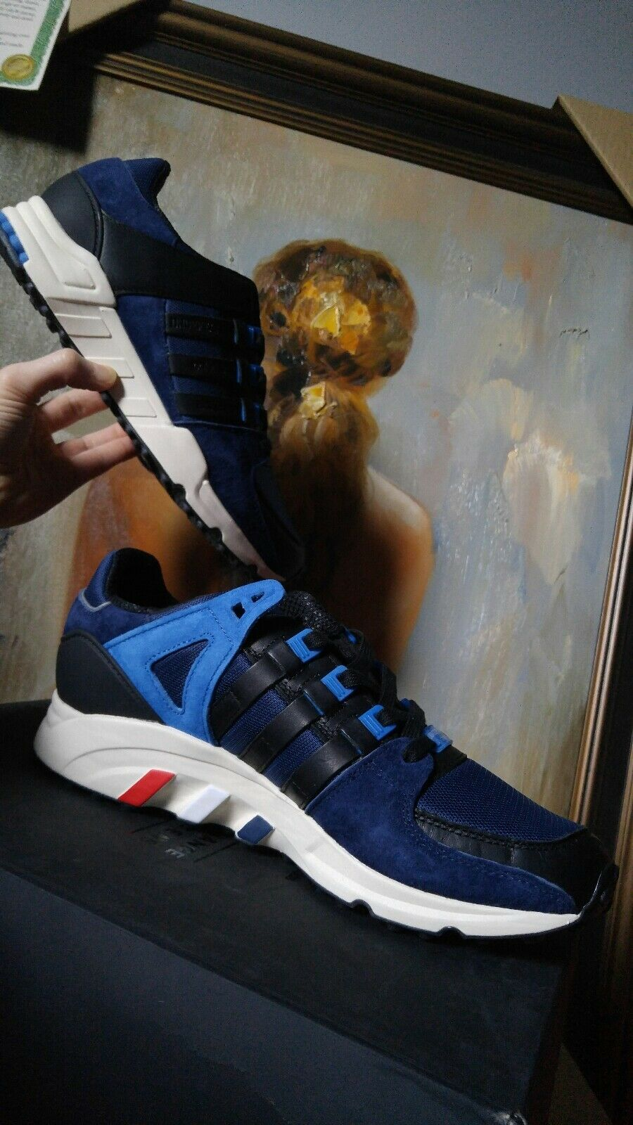 Adidas EQT Support SE Consortium Colette Undefeated Size 9 9.5 10 10.5 bluee