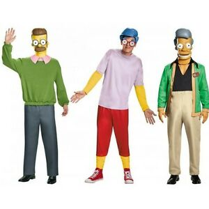 Cartoon characters are a great idea for men's costumes.
