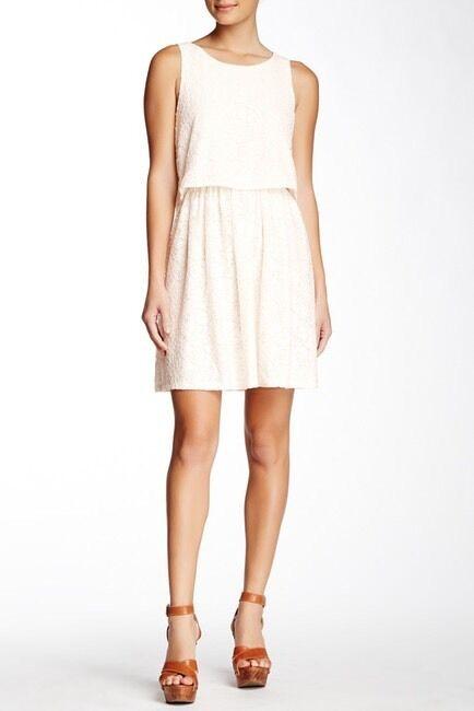 Julie Brown Women's Ivory Sabine Shift Dress - Size S -  205