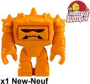 Lego-Figurine-Minifig-Toy-Story-3-Chunk-rocher-rock-pierre-orange-toy010-NEUF
