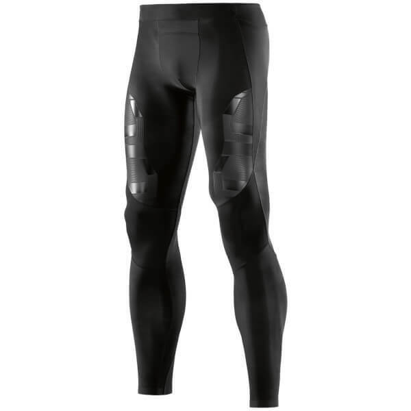 Genuine Skins A400  Herren Compression Long Tights - Oblique