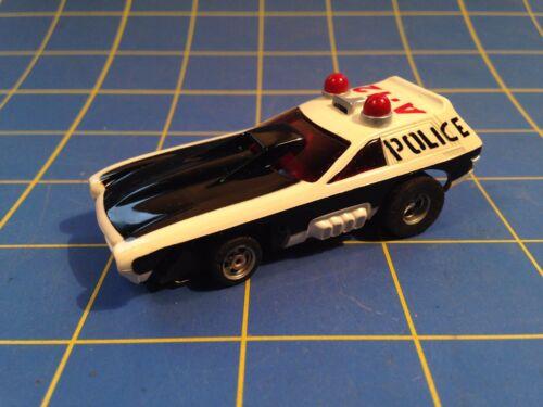 AURORA HO MAGNA STEERING Smokies Magnum slot car COMPLETE CAR afx 5781