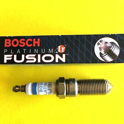 New BOSCH Platinum Ir Iridium Fusion Spark Plug Made in Germany