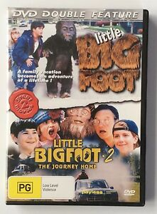 Little-Bigfoot-Little-Bigfoot-2-The-Journey-Home-Double-Feature-All-Reg-DVD