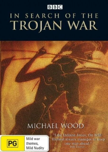 Michael Wood's In Search Of The Trojan War 2xDVDs, Region 4, As New Free Postage