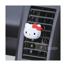 Hello Kitty Face Die Cut Car Air Freshener fragrance 2 pcs :premium shampoo