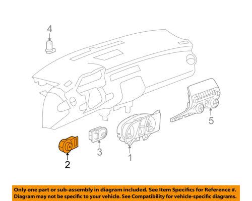 Chevrolet GM OEM 10-15 Camaro-Headlight Headlamp Switch 92218815