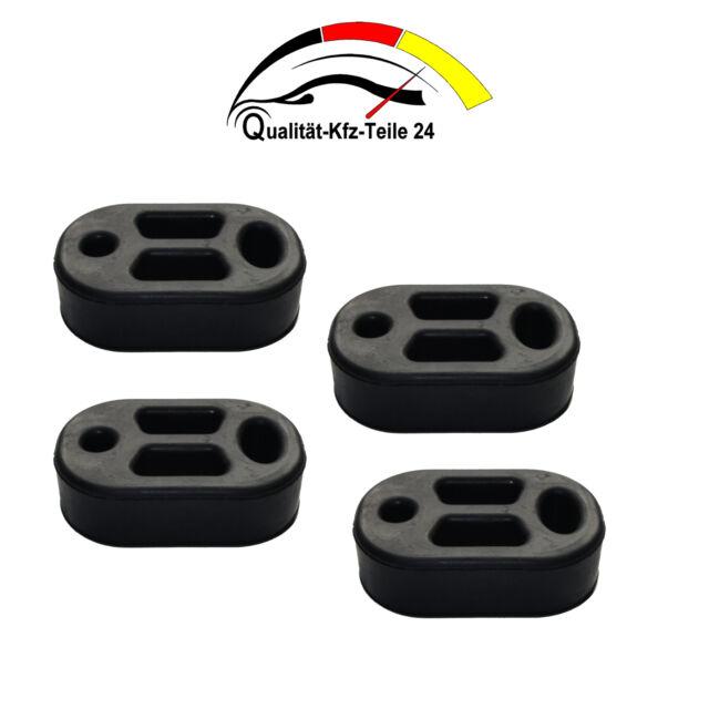 4 x Auspuffhalter für Peugeot Renault Citroen Nissan Mittel//Endtopf Halter Gummi