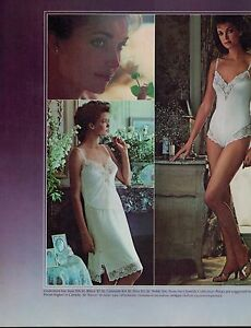 a2a63dc7ea Image is loading 1984-Maidenform-Chantilly-Lingerie-Bra-amp-Panty-Magazine-